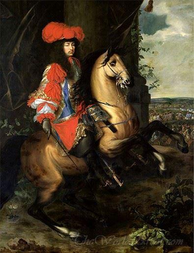Louis Xiv Equestrian Portrait