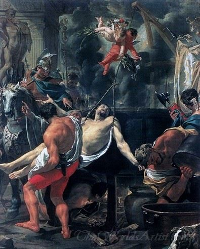 Martyrdom Of St John The Evangelist At Porta Latina