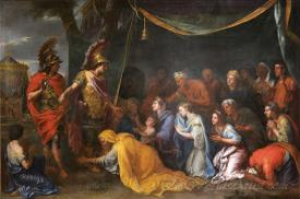 The Queens Of Persia At The Feet Of Alexander The Tent Of Darius