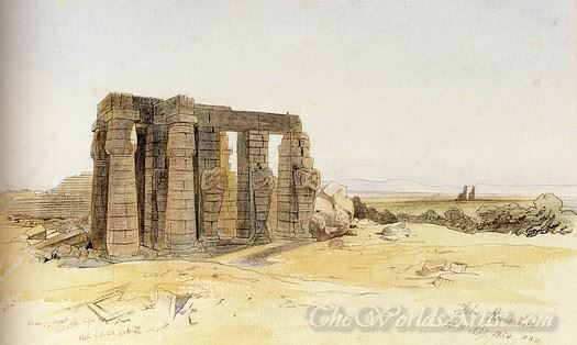 The Ramesseum Thebes