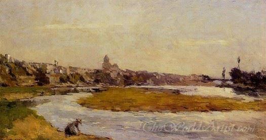L Allier A Pont Du Chateau