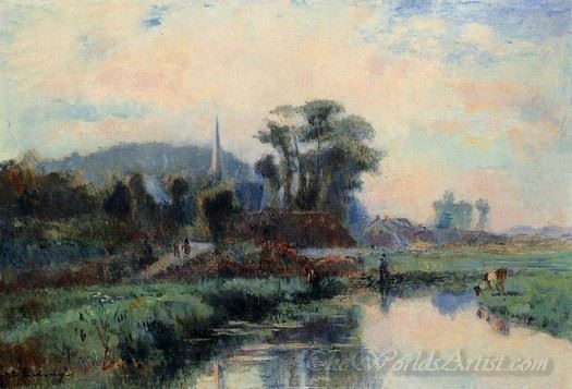 The Banks Of The Durdent