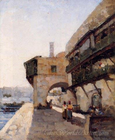 The Quay De Lamiraute In Algiers