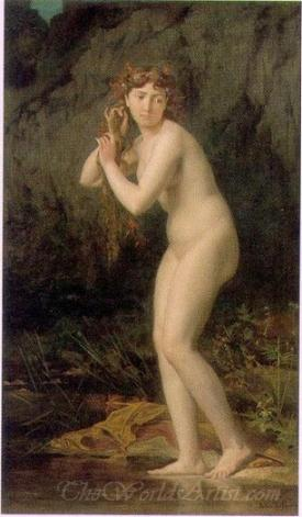 A Bathing Nude