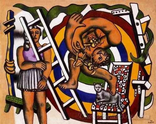 El Acrobata Y Su Companera  (The Acrobat And His Partner)