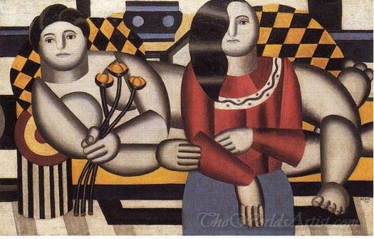 Femme Tenant Des Fleurs  (Woman Holding Flowers)