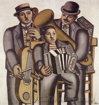 Les Trois Musiciens  (The Three Musicians)