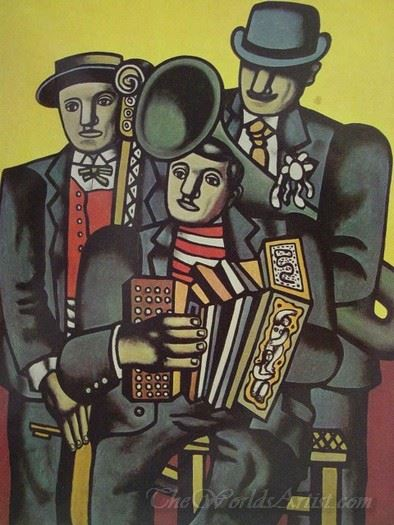 Trois Musiciens  (Three Musicians)