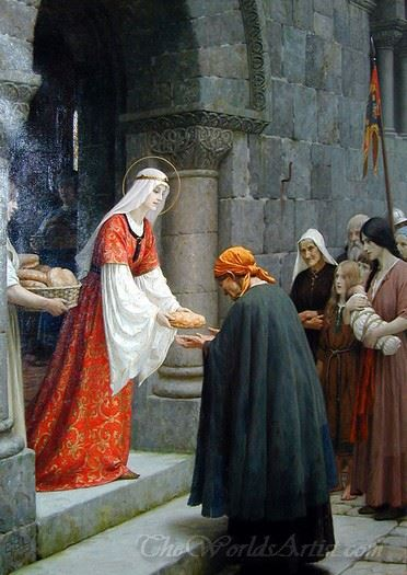 The Charity Of St Elizabeth Of Hungary