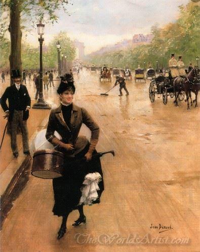 La Modiste Sur Les Champs Elysees  (The Milliner On The Champs Elysees)