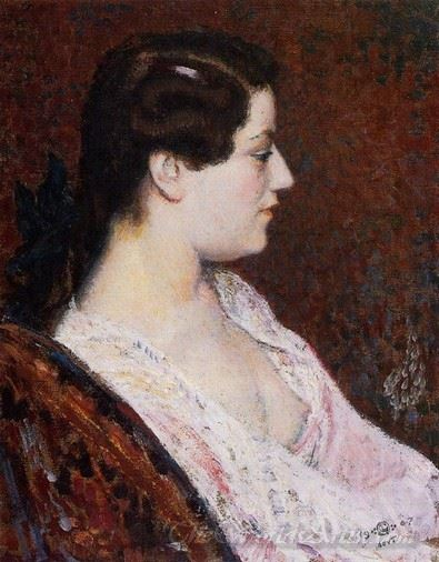 Woman With Bared Breast