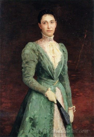 Portrait Of Elizabeth Gardener Bouguereau