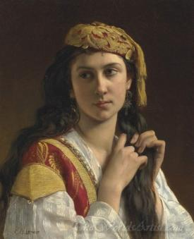 Jeune Fille Grecque  (Young Greek Girl)