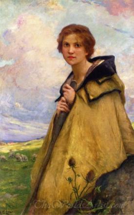 La Bergere  (The Shepherdess)