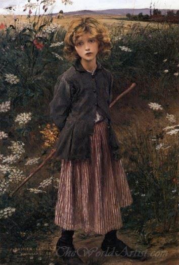Roadside Flowers The Little Shepherdess