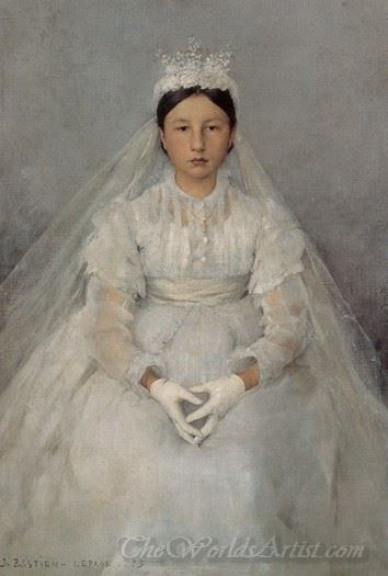 The Communicant  (The First Communion)
