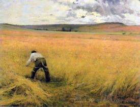 Les Bles Murs The Ripened Wheat