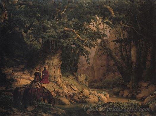 The Thousand-year Old Oak  (Millennial Oak)