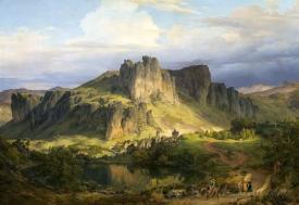 Landscape In The Eifel Mountains