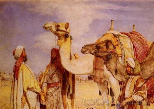 The Greeting In The Desert Egypt