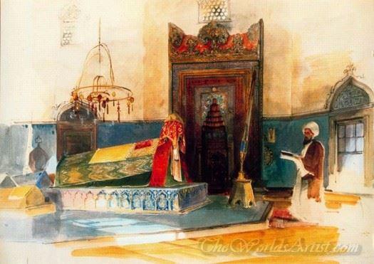 The Tomb Of Sultan Beyazit Constantinople