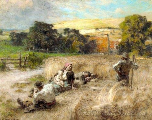 Repos Pendant La Moisson  (Rest During Harvest)