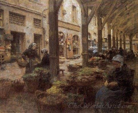 The Covered Vegetable Market St Malo