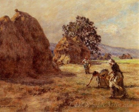The Gleaners Scenes De Moissons