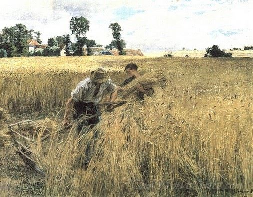 The Harvest At Ru Chailly