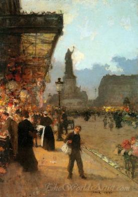 La Place De La Republique Paris