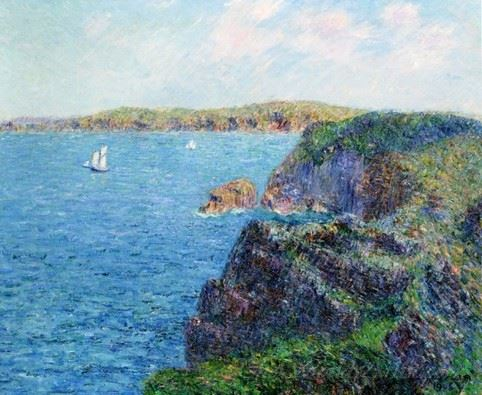 A Cove At Sevignies Cap Frehel