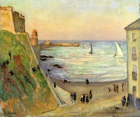 The Port At Collioure