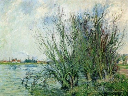 Willows Banks Of The Oise