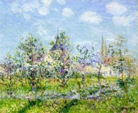 Flowering Orchard Spring
