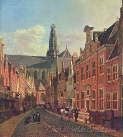 Street In Haarlem
