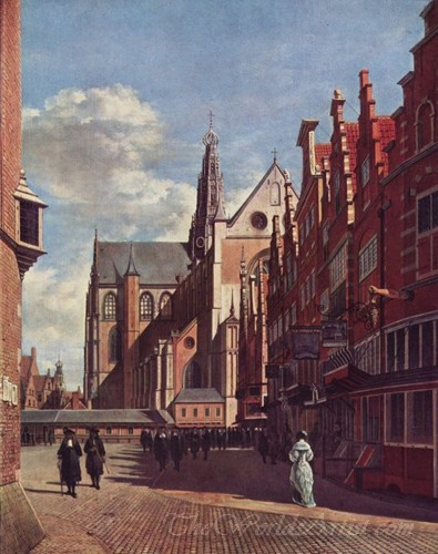 The Large Square In Haarlem