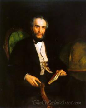 Portrait Of Peter Douglas Esquire