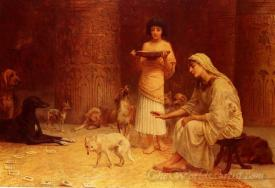 Preparing For The Festival Of Anubis