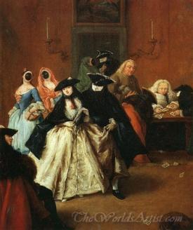 The Ridotto In Venice  (Gambling Parlor In Venice)
