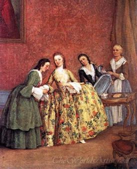 The Venetian Ladys Morning