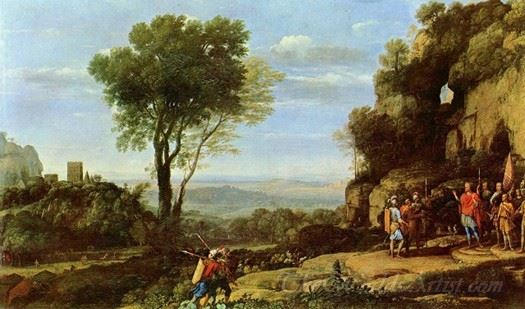 Landscape With David And Three Heroes