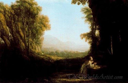 Landscape With Maria De Cervell