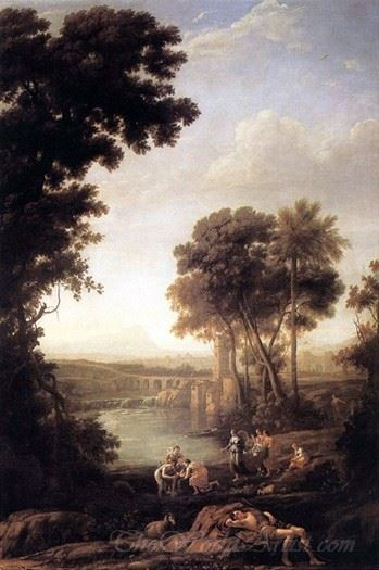 Landscape With Moses Saved From The Waters