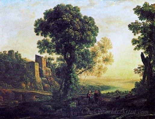 Landscape With Pastors