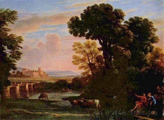 Landscape With Shepherd Pastorale