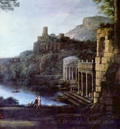 Landscape With The Nymph Egeria And King Numa