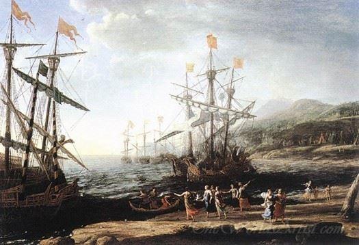 The Trojan Women Set Fire To Their Fleet