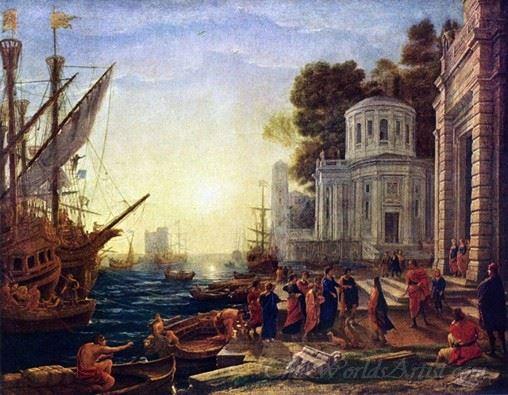 The Disembarkation Of Cleopatra At Tarsus