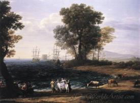 Coast Scene With The Rape Of Europa