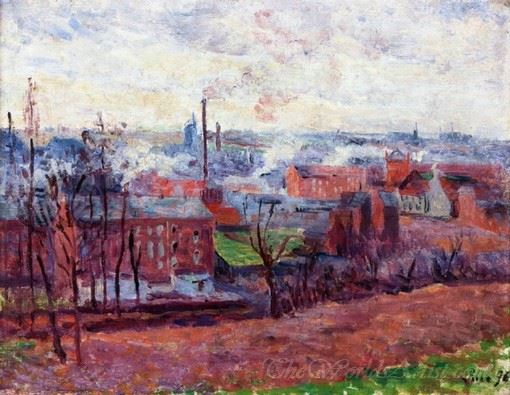 Landscape At Marchiennes